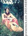 Hippy girl 26654689