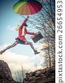 jumping girl 26654953