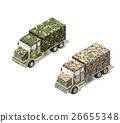 Military truck army 26655348