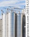 Chemical plant, silos 26655422