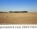 plowed agricultural field 26657469