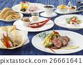 Azalea Course with bread, fresh crab, tuna, 26661641
