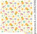 Cute seamless vector pattern 26662996