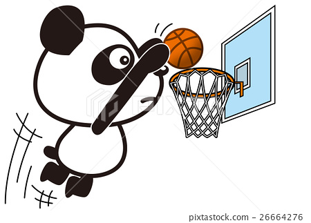 panda, pandas, basket ball 26664276