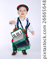 accordion boy white 26665648