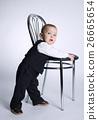男孩 椅子 可爱 26665654