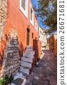 Monemvasia the medieval town in Peloponnese 26671681