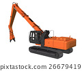 heavy machinery, construction machinery, crusher 26679419