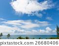 นิวแคลิโดเนียท้องฟ้าทะเลและสีเขียว 26680406