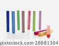 Group colorful chalk 26681304