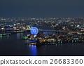 夜景 海洋 海 26683360