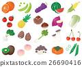 蔬菜 水果 一套 26690416