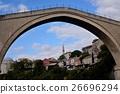 美しいラインを作るモスタルの橋 26696294