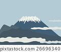 矢量 富士山 日本 26696340