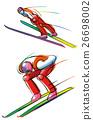 스키, 점프, 인물 26698002