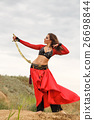 Dance with a sword. Tribal style 26698844