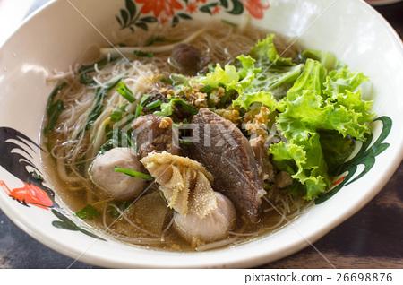 Beef Noodles Soup 26698876