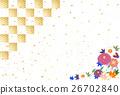 矢量 開花 花卉 26702840