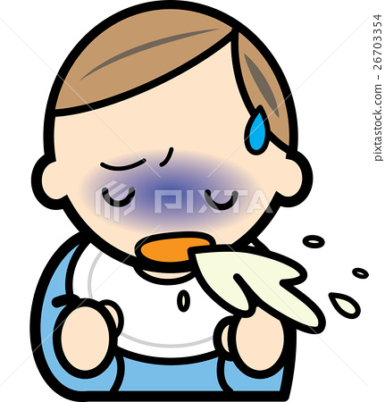 Baby vomiting 26703354
