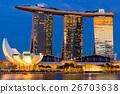 Singapore city skyline 26703638
