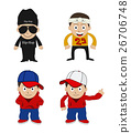 rapper vector illustration 26706748