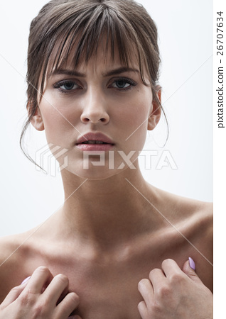 displeased woman portrait 26707634