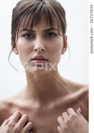 displeased woman portrait 26707634