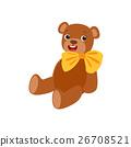泰迪熊 熊 黄色 26708521