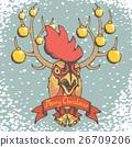ไก่ตัวผู้,คริสต์มาส,คริสมาส 26709206
