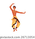 Indian male dancer in traditional harem pants 26713054