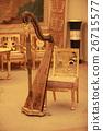 Harp in luxury interior 26715577