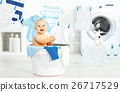 洗衣店 衣物 衣服 26717529