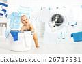 洗衣店 衣物 衣服 26717531
