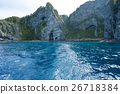 從船上看到的積丹半島(藍洞) 26718384