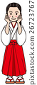 miko, priestess, shrine maiden 26723767