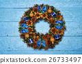 Christmas wreath 26733497
