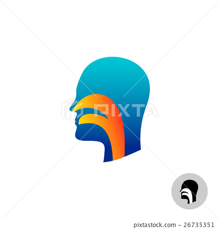 Throat silhouette 26735351