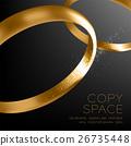 wedding ring vector 26735448