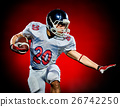 american football player man isolated 26742250