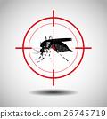 kill mosquito , flat icon design,logo 26745719