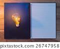 想法 主意 灯泡 26747958