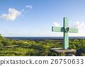 十字架 交叉 風景 26750633