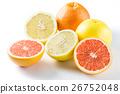 grapefruit, grapefruits, pink grapefruit 26752048