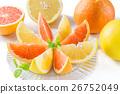 葡萄柚 水果 紅寶石 26752049