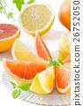grapefruit, grapefruits, fruit 26752050