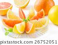 葡萄柚 水果 紅寶石 26752051