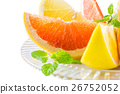 grapefruit, grapefruits, pink grapefruit 26752052