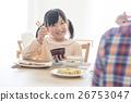 一個吃早餐的女孩 26753047