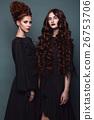 portrait, dress, avant-garde 26753706
