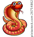 snake, vector, animal 26754862